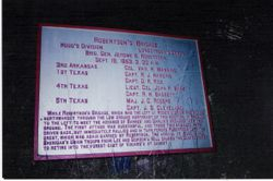 Another Texas Brigade marker we found on another part of the Chickamauga battlefield