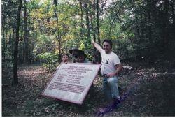 Finding a marker for Hood's Texas Brigade at Chickamauga