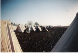 Part of the Confederate camp at Spring Hill