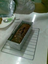 Baking (Brownie Fudge Cake)