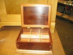 Ken Thayer's box showing inside detail