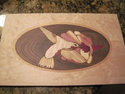 Ken Thayer--First solo inlay.