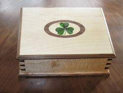 Irish Jewelry Box