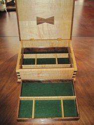 Irish Jewelry Box Open