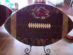 SC Gamecock Football Cutting Board
