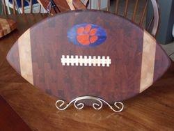 Clemson Football Cutting Board