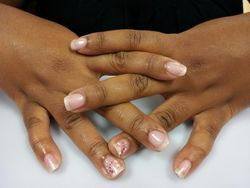 Freehand Natural Manicure