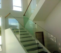 Frameless Stair Railing