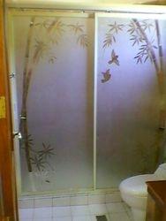 Top Hanging Shower Enclosure