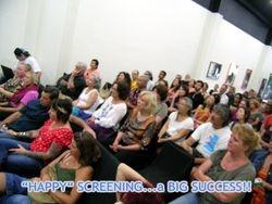 """""""HAPPY"""" screening event."""