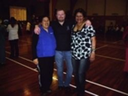 TIM GAUCI WITH DALE & I