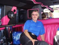 Marilyn Relaxing In Hummer