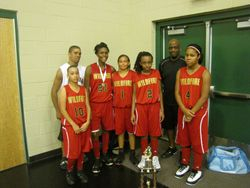 13U 3rd place Wildfire
