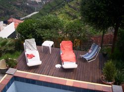 Plunge pool and deck