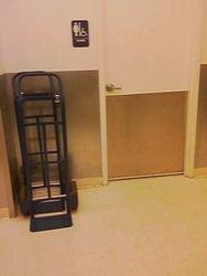 Stockroom/Restroom Area