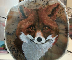 Fox For Anne and Alan on Agate