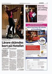 Alingsås Tidning, Okt 2010