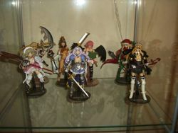 Queens Blade revoltech  old display