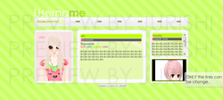 Tiny Simple Colorful Layouts