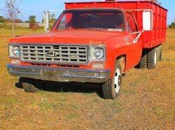 1975 Chevy C20 dump truck