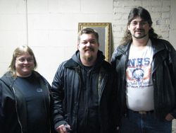 """My wife and I and Danny """"boone"""" of  Rehab"""