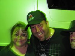 My wife and Uncle Kracker Apr 2009
