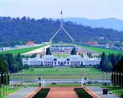 Quôc Hoi Liên Bang Úc - Canberra