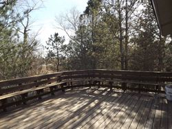 Second story viewing deck