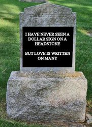 Love on a Headstone