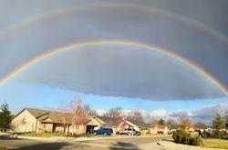 Rainbow over Cottonwood