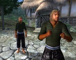 Male Green Sweater In-Game