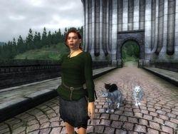 Female Green Sweater In-Game