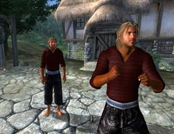 Male Red Sweater In-Game