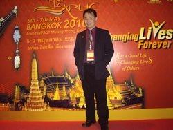 Simultaneous Interpreter for APLIC 2010 in Bangkok, Thailand