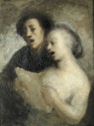 HONORE DAUMIER - DR7013