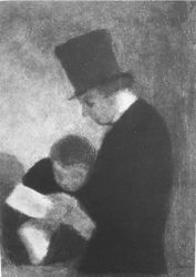 HONORE DAUMIER - DR7014