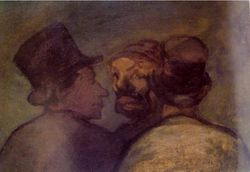 HONORE DAUMIER - DR7035