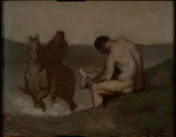 HONORE DAUMIER - DR7038