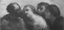 HONORE DAUMIER - DR7058