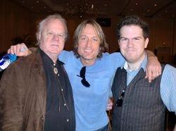 Dave Loggins, Keith Urban, and Dylan Loggins