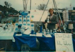 DK at the Orange County Fair selling WATER FILTERS in 1988 !