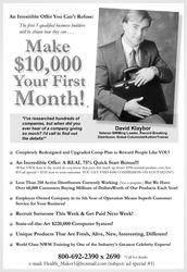 DK helps create Career Professional Network Marketers...