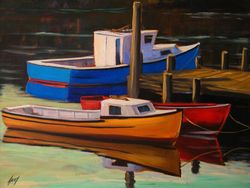Primary Boats 16x20 $2300