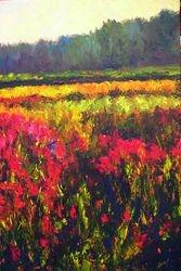Fireweed Dawn 36x24 acrylic $2350