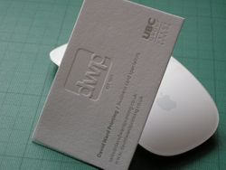 "4. dwp ""DE-EMBOSSED""/silver foiled"