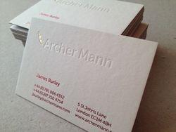 36. Archer Mann.
