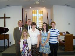 Pastor Dennis Moore and the Dawson Tribe