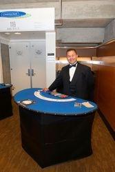 Blackjack Table & Dealer