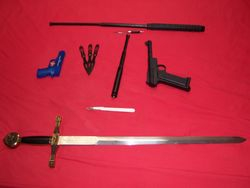 Weapons, part 5