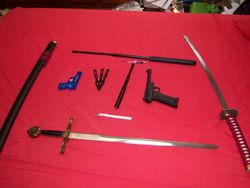 Weapons, part 6